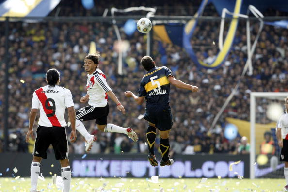 The most unfriendly friendly in world football as Boca Juniors take on River Plate in a pre season Superclasico