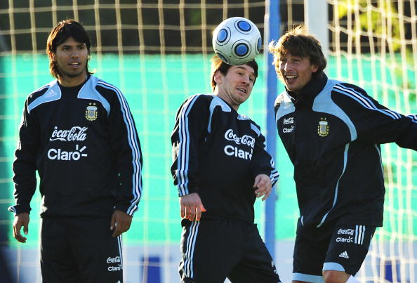 lionel messi 2009 argentina. The Argentine national team