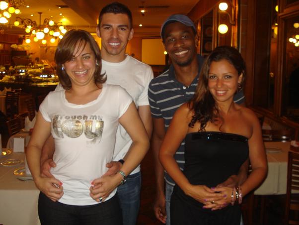 Las  Novias de los jugadores de Brasil
