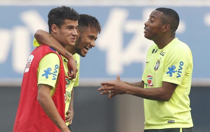 Treino Seleção Brasileira em Pequim