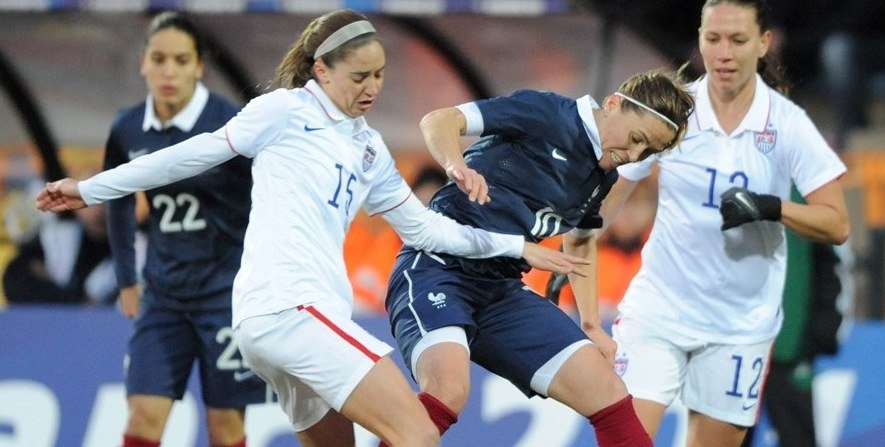 Women's Football : France Defeat USA 2-0 in World Cup Warm Up – Watch Goals
