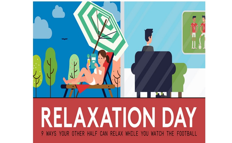 It's football's very own Relaxation Day!
