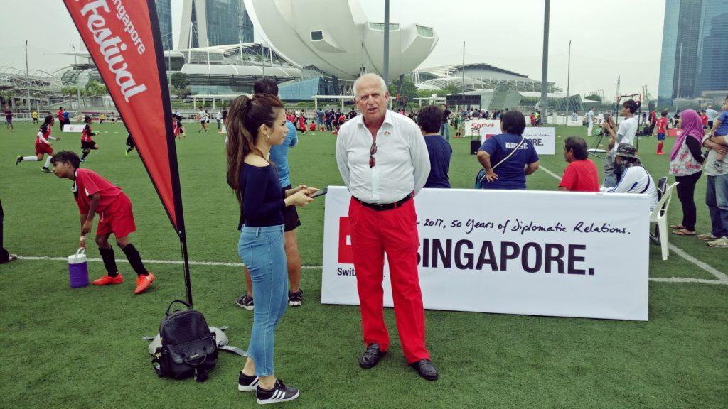 Switzerland-Singapore Football Festival 2017